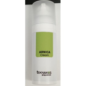 TEKNAKIS Φαρμακείο Arnica Cream Φυσική Φόρμουλα σε Μορφή Κρέμας για Μώλωπες & Φλεγμονές 50ml