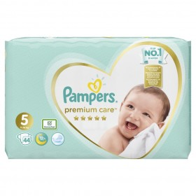 PAMPERS Premium Care Βρεφικές Πάνες No5 (11-16kg) 44τμχ