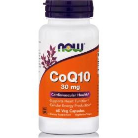NOW FOODS CoQ10 30mg Vegeterian 60 Vcaps