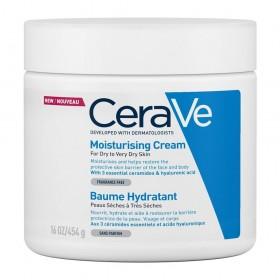 CERAVE Moisturising Cream Ενυδατική Κρέμα για Ξηρό έως Πολύ Ξηρό Δέρμα 454g