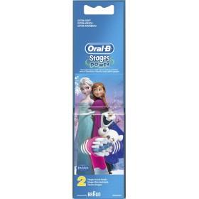 ORAL-B Stages Power Frozen Ανταλλακτικά Βουρτσάκια για Παιδικές Ηλεκτρικές Οδοντόβουρτσες 2τμχ