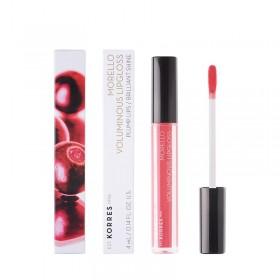 KORRES Morello Voluminous Lipgloss για Γεμάτα Χείλη & Λαμπερό Αποτέλεσμα Απόχρωση 42 Peachy Coral 4ml