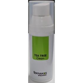 TEKNAKIS Φαρμακείο Tea Tree Cream Φυσική Φόρμουλα σε Μορφή Κρέμας για Αντιμυκητιασική Δράση 50ml