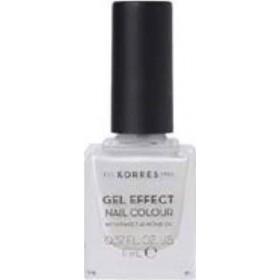 KORRES Gel Effect Nail Colour Ημιμόνιμο Βερνίκι Νυχιών Απόχρωση No11 Coconut Smoothie 11ml