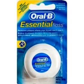 ORAL-B Ακήρωτο Οδοντικό Νήμα Essential Floss 50m