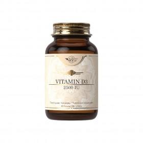 SKY PREMIUM LIFE Vitamin D3 2500IU Συμπλήρωμα Διατροφής με Βιταμίνη D3 60 Δισκία