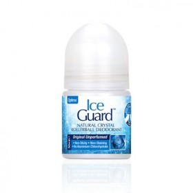 OPTIMA Ice Guard Natural Crystal Rollerball Deodorant Αποσμητικό Roll On Χωρίς Άρωμα 50ml