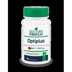 DOCTOR'S FORMULAS Optiplus Συμπλήρωμα Διατροφής που Συμβάλλει στη Διατήρηση της Φυσιολογικής Όρασης 30 Κάψουλες