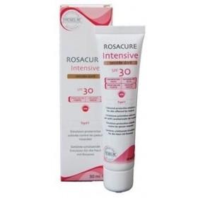 SYNCHROLINE Rosacure Intensive SPF30 Ενυδατική & Καταπραυντική Κρέμα Προσώπου με Χρώμα Αποχρωση Dore 30ml