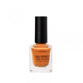 KORRES Gel Effect Nail Colour Ημιμόνιμο Βερνίκι Νυχιών Απόχρωση No92 Mustard 11ml