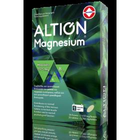 ALTION Magnesium 375mg Συμπλήρωμα Διατροφής με Μαγνήσιο 30 Δισκία
