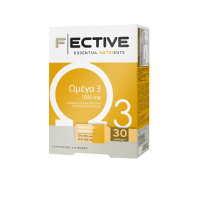 F ECTIVE by AMBITAS Ωμέγα 3 1000mg 30 LipidsCaps