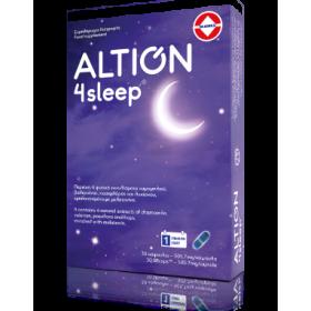 ALTION 4sleep Συμπλήρωμα Διατροφής για τη Βελτίωση της Ποιότητας του Ύπνου 30 Κάψουλες