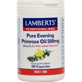 LAMBERTS Pure Evening Primrose Oil 500mg Ωμέγα 6 180 δισκία