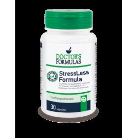 DOCTOR'S FORMULAS StressLess Formula Συμπλήρωμα Διατροφής για τη Φυσιολογική Ψυχολογική Λειτουργία 30 Κάψουλες