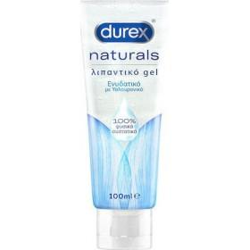 DUREX Naturals Ενυδατικό Λιπαντικό Gel με Υαλουρονικό 100ml