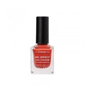 KORRES Gel Effect Nail Colour Ημιμόνιμο Βερνίκι Νυχιών Απόχρωση No50 Pumpkin Spice 11ml