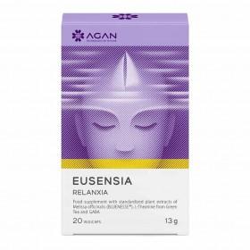 AGAN Eusensia Relanxia Συμπλήρωμα Διατροφής για την Διαχείρηση του Καθημερινού Άγχους 20 Veg Caps