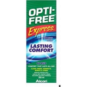 OPTI-FREE Express Διαλύμα Απολύμανσης Φακών Επαφής Πολλαπλών Χρήσεων 355ml