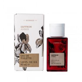 KORRES Eau De Toilette Safron Amber Γυναικείο Άρωμα 50ml