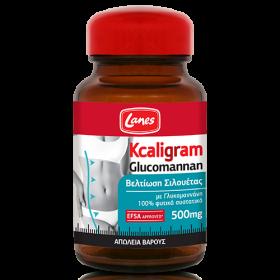 LANES Kcaligram Glucomannan 500mg 60 φυτικές κάψουλες
