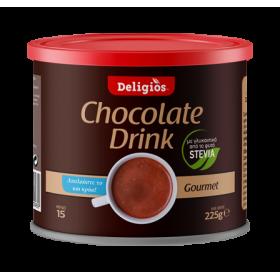 DELIGIOS Chocolate Drink Ρόφημα Σοκολάτας με Στέβια 225g