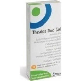 THEALOZ Duo Gel Υγρή Γέλη για τα Μάτια 30x0,4g