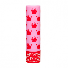 APIVITA Bee Princess Bio-Eco Lip Care με Βερύκοκο & Μέλι