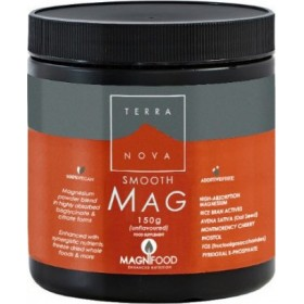 TERRANOVA Smooth Mag Συμπλήρωμα Διατροφής Μαγνησίου σε Σκόνη 150gr