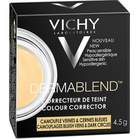 VICHY Dermablend Colour Camouflages Bluish & Dark Circles Κίτρινο Χρώμα 4,5g