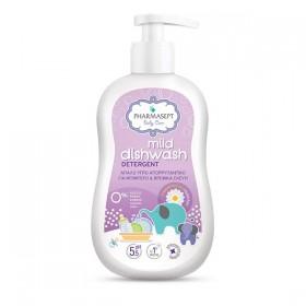 PHARMASEPT Baby Care Mild Dishwash Detergent Απαλό Υγρό Απορρυπαντικό για Μπιμπερό και Βρεφικά Σκεύη 400ml