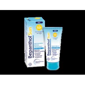 BEPANTHOL Sun Αντηλιακή Κρέμα Προσώπου SPF50+ 50ml