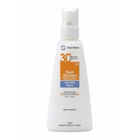 FREZYDERM Sun Screen Anti-Seb Spray SPF30 150ml