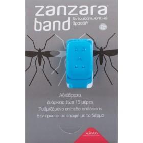 VICAN Zanzara Band Εντομοαπωθητικό Βραχιόλι (S/M) Blue 1τμχ
