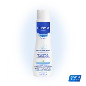 MUSTELA Multi-Sensory Bubble Bath 200ml