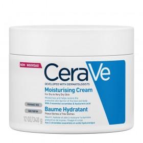 CERAVE Moisturising Cream Ενυδατική Κρέμα για Ξηρό έως Πολύ Ξηρό Δέρμα 340g