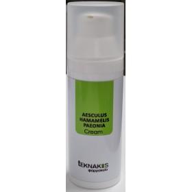 TEKNAKIS Φαρμακείο Aesculus Hamamelis Paeonia Cream Φυσική Φόρμουλα σε Μορφή Κρέμας για Φλεβίτιδες 50ml