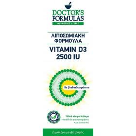 DOCTOR'S FORMULAS Vitamin D3 2500IU Συμπλήρωμα Διατροφής Λιποσωμιακή Φόρμουλα 150ml