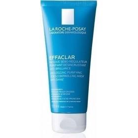 LA ROCHE POSAY Effaclar Μάσκα Καθαρισμού των Πόρων & Ρύθμιση του Σμήγματος κατά της Γυαλάδας 100ml