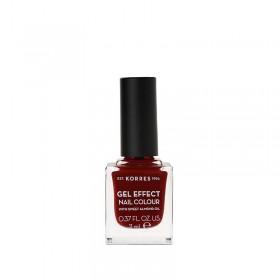 KORRES Gel Effect Nail Colour Ημιμόνιμο Βερνίκι Νυχιών Απόχρωση Νο59 Wine Red 11ml