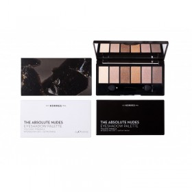 KORRES Volcanic Minerals The Absolute Nudes Eyeshadow Palette Intense Pay-Off/Satin Finish 6g