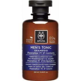 APIVITA Men's Tonic Shampoo Ανδρικό Τονωτικό Σαμπουάν Κατά της Τριχόπτωσης με Ιπποφαές & Δενδρολίβανο 250ml