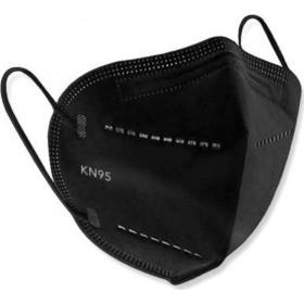 Μάσκα Υψηλής Προστασίας KN95 GB2626-2006 Μαύρη 1τμχ