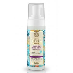 OBLEPIKHA SIBERICA Professional Styling Mousse Αφρός Μαλλιών για Μέγιστο Όγκο Κατάλληλο για Όλους τους Τύπους Μαλλιών 150ml