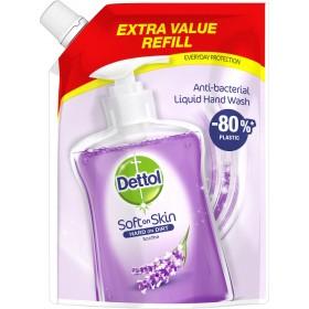 DETTOL Soft On Skin Hard On Dirt Anti-Bacterial Liquid Hand Wash Refill Soothe Ανταλλακτικό Αντιβακτηριδιακό Υγρό Κρεμοσάπουνο 500ml