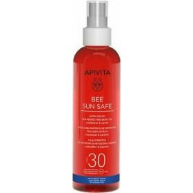 APIVITA Bee Sun Safe Satin Touch Tan Perfecting Body Oil Αντηλιακό Λάδι Σώματος για Μαύρισμα και Μεταξένια Αίσθηση SPF30 200ml