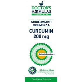 DOCTOR'S FORMULAS Curcumin 200mg Συμπλήρωμα Διατροφής Λιποσωμιακή Φόρμουλα 225ml