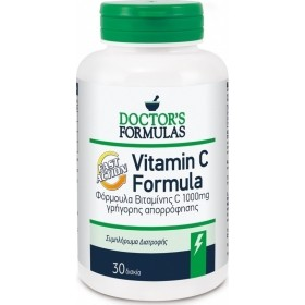 DOCTOR'S FORMULAS Double Vitamin C 1000mg 30 δισκία
