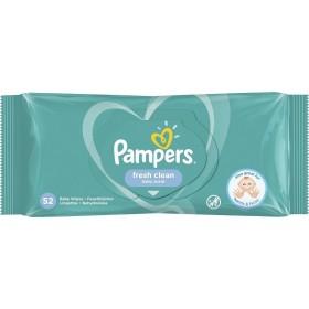 PAMPERS Fresh Clean Μωρομάντηλα με Άρωμα 52τμχ