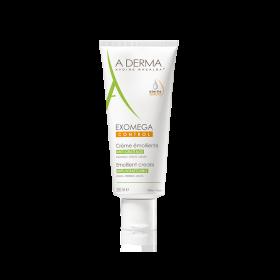 A-DERMA Exomega Control Anti-Scratching Emollient Cream Μαλακτική Κρέμα Προσώπου & Σώματος Ενάντια στον Κνησμό 200ml